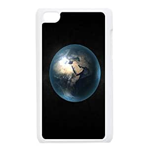 iPod Touch 4 Case White The Earth Ieupf