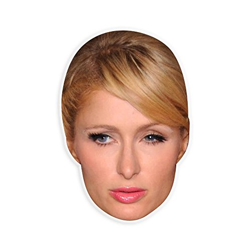 Paris Hilton Halloween Costumes (Bored Paris Hilton Mask - Perfect for Halloween, Masquerade, Parties, Events, Festivals, Concerts - Jumbo Size Waterproof)
