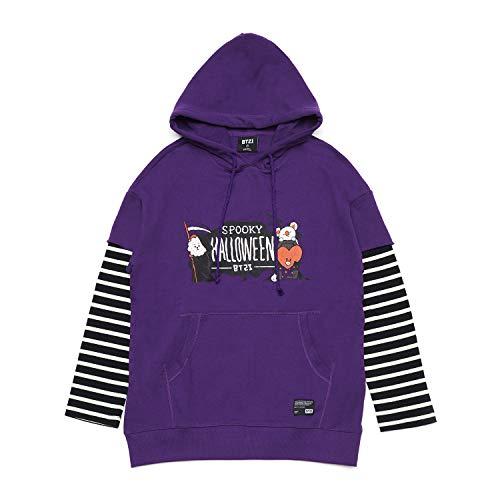 BT21 BTS Spooky Halloween Series - Character Hoodie Sweatshirts for Men and  Women de543c293f75