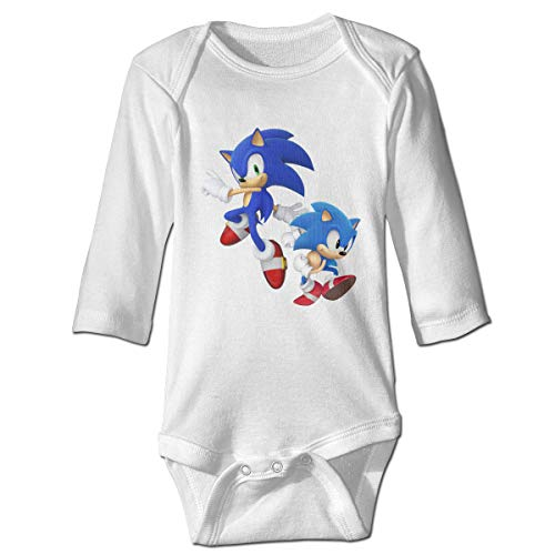 MDClothI Babys Sonic Hedgehog Classic Comfortable Long Sleeve Jumpsuit Outfits 18M ()