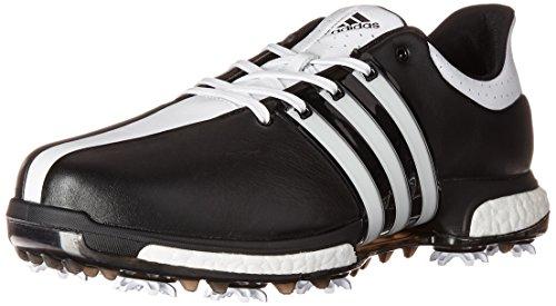 adidas Men's Tour 360 Boost WD Cblack Golf Shoe, Black, 10 2E US