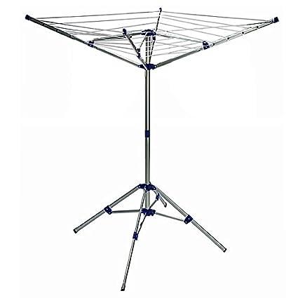 Tendedero paraguas plegable 4 brazo 4 patas aluminio – inalámbrico longitud ...