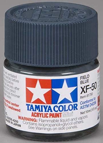 Field Blue TAMIYA 81750 Peinture Acrylique XF-50 Bleu Campagne