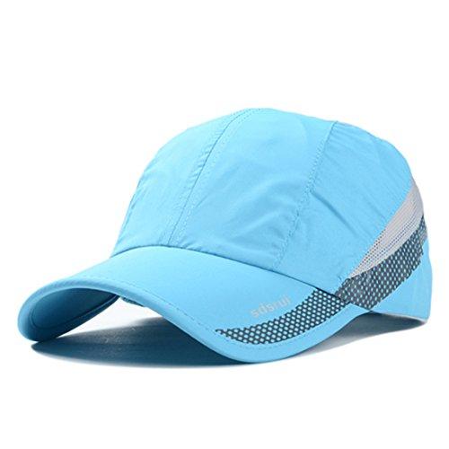 Quick-drying Waterproof Baseball Cap Outdoor Lightweight UV Protection Hats