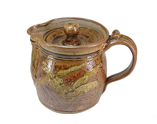 Covered Serving Pitcher Pentacle Lidded Coffee Maker Pot Goddess ()