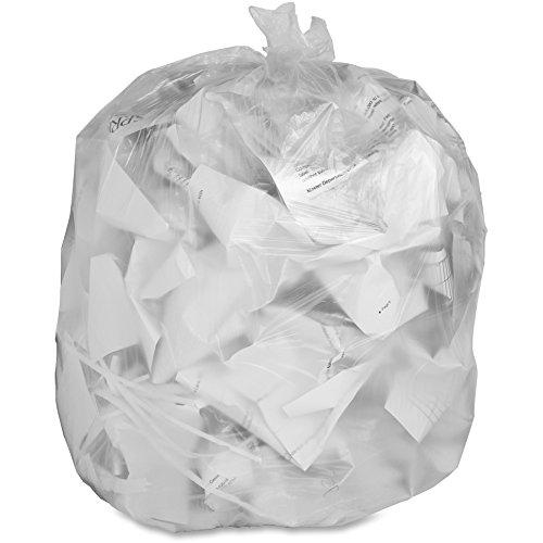 Count Carton (Genuine Joe Economy High-Density Can Liners, 55-60 Gallon, Translucent, Carton Of 200)