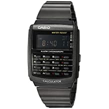 Casio Mens E-Data-Bank Calculator Watch Digital Casual Quartz Watch (Imported) CA-506B-1A