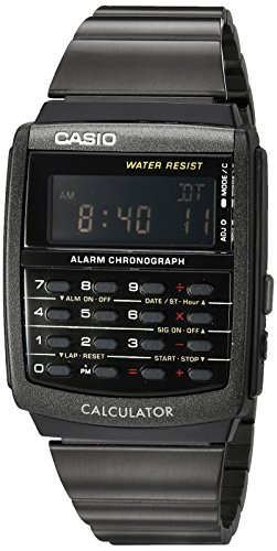 Casio Mens E-Data-Bank Calculator Watch Digital Casual Quartz Watch (Imported) CA-506B-1A