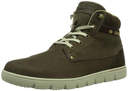 Dockers 352622-003004 - Zapatillas de estar por casa Hombre Schlamm 4