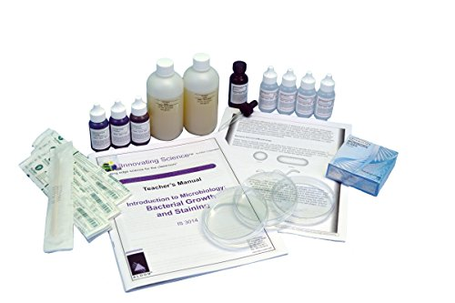Innovating Science Introduction to Microbiology: Bacterial Growth and Staining Kit