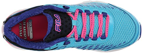 Fila Dashtech energizada las zapatillas de running Blue Atoll/Royal Blue/Knock Out Pink