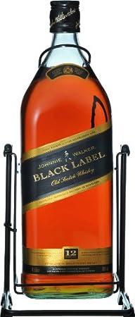 WHISKY JHONNIE WALKER BLACK LABEL 40% 450 CL