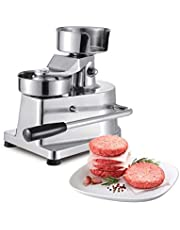 ALDKitchen Burger Press | Hamburger Patty Maker | Commercial Meat Forming Tool | Stainless Steel | 100mm Diameter