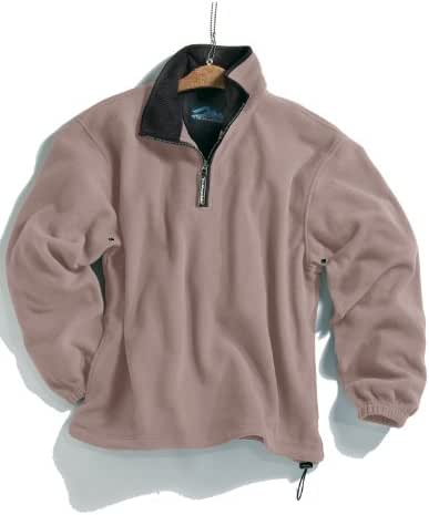 Tri-Mountain Men's 100% Polyester Anti-Pilling Micro Fleece 1/4 Zip Escape Pullover (6 Color)