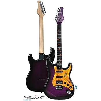 fretlight fg 621 wireless electric guitar learning system sunburst musical. Black Bedroom Furniture Sets. Home Design Ideas