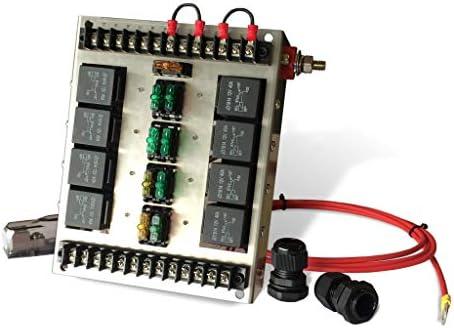 Stupendous Amazon Com Mgi Speedware 4 Relay Panel Box And Wiring Block Kit Wiring Digital Resources Attrlexorcompassionincorg