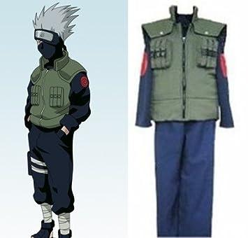 Sunkee Naruto Cosplay Akatsuki Ninja Kakashi Hatake Disfraz ...