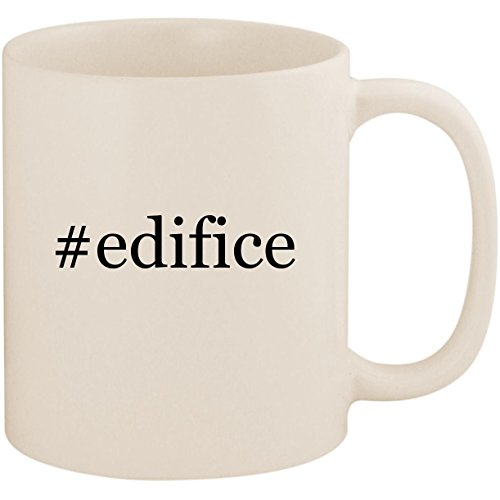 #edifice - 11oz Ceramic Coffee Mug Cup, White