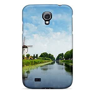 Ideal Welchmoibe1999 Cases Covers For Galaxy S4(windmill), Protective Stylish Cases
