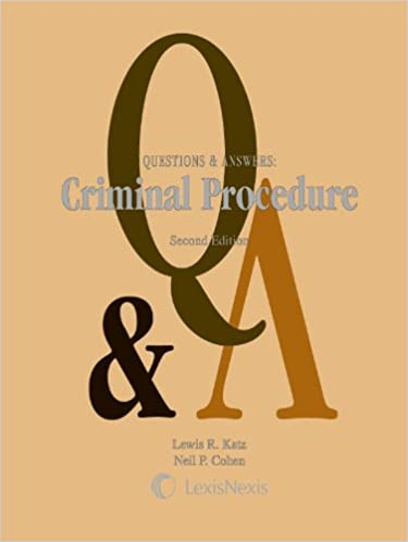 Questions and answers criminal procedure questions answers questions and answers criminal procedure questions answers kindle edition by lewis r katz neil p cohen professional technical kindle ebooks fandeluxe Choice Image