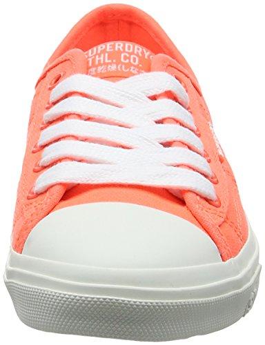 Superdry Low Pro Sneaker Schoenen Fluro Coral