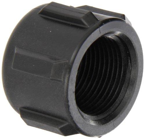 (Banjo CAP100 Polypropylene Pipe Fitting, Cap, Schedule 80, 1
