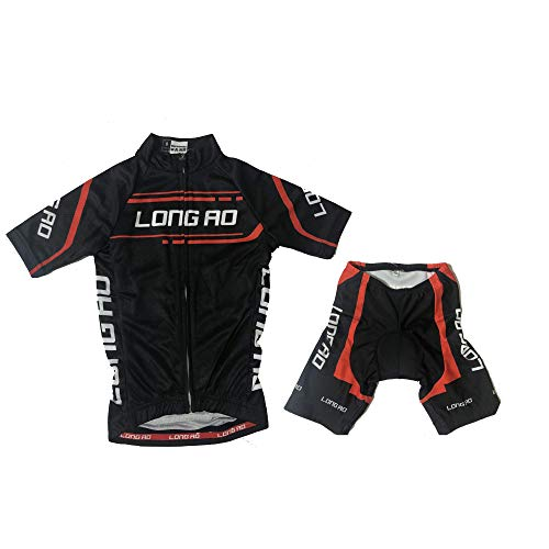 LONG AO Children Cycling Jersey Short Sleeve