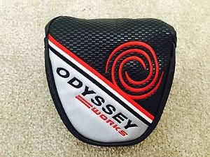 2 Ball Putter Headcover Odyssey (New Odyssey Works 2Ball Mallet Putter Headcover)