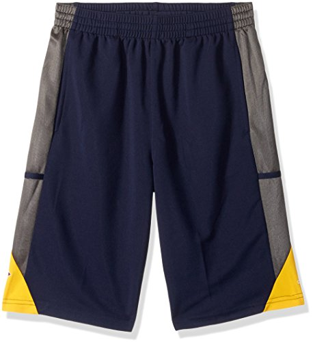 Adidas Cavaliers Cleveland Shorts - NBA Youth 8-20 Cleveland Cavaliers Tip Off Short-Dark Navy-L(14-16)