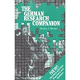 The German Research Companion, Shirley J. Riemer, 0965676102