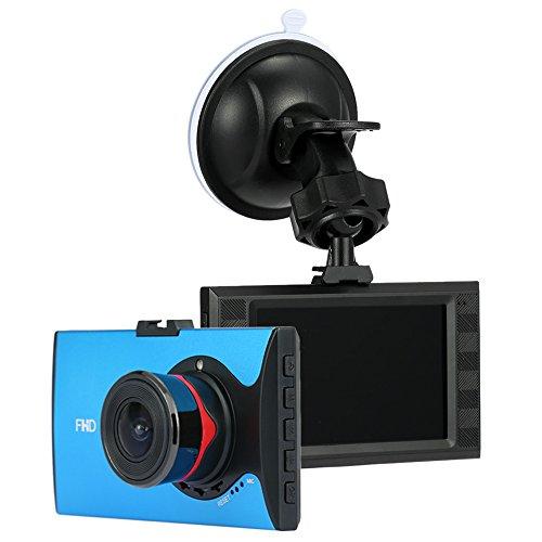 Car Video Recorder, KKmoon Ultra-Slim 3.0 inch Car Vehicle DVR Camcorder with Night Vision / G-Sensor / Motion Detection