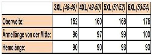 Arrivee Hellblau 4XL (49/50) Langarm