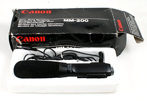 CANON MM-200 STEREO MIXING MICROPHONE IN ORIG. BOX (Box Orig)