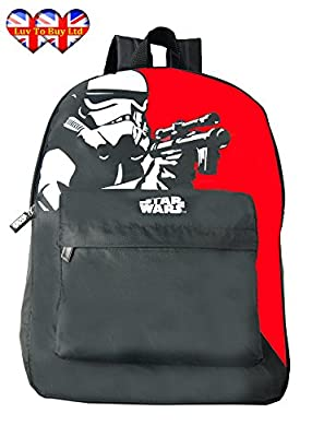 Star War Stormtrooper Backpack,Official Licensed Backpack,School Bag(RRP:£24.99)