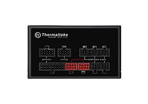 Thermaltake Smart Pro RGB 850W 80+ Bronze Smart Zero 256-Color RGB Fan Fully Modular ATX 12V 2.4/EPS 12V 2.92 Power Supply 7 YR Warranty PS-SPR-0850FPCBUS-R by Thermaltake (Image #3)