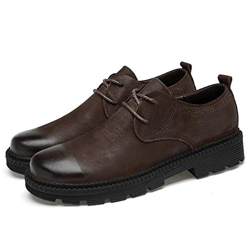 Men's Fashion e 2018 Formal casa convenzionale Cotton Low e camminare Per Outdoor Basse Stringate Soft compagnia optional Warm Scarpe Classic vivere Marrone Shoes in Top vfqwq0ntr