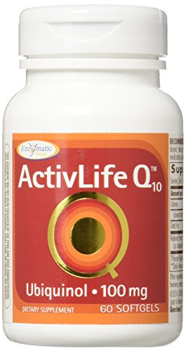 Enzymatic Therapy Activlife Q10 Ubiquinol Supplement, 60 Count