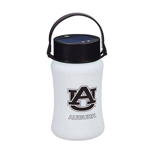 Team Sports America Auburn University Outdoor Safe Silicone Solar Powered Tailgate Lantern ()