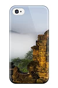 First-class Case Cover For Iphone 4/4s Dual Protection Cover Buddhism Religious Abstract Religious wangjiang maoyi