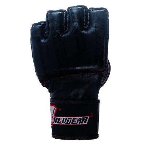 Revgear Challenger MMA Gloves (Black, XX-Large/4-Ounce)