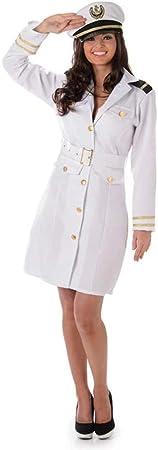 Karnival 81059 - Disfraz para mujer, color blanco, talla pequeña ...