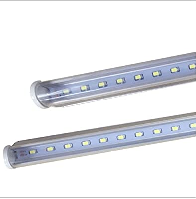 CIDASXL T5 LED tube for 3 feet, 35 inches, 14W, 72pcs LED, 6000K, 1600 lumens, 50,000 hours! LED tube, transparent cover, double-sided connection …