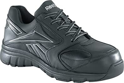 f696ae22d79 Amazon.com  Reebok RB449 Women s Classic Performance Safety Shoes - Black   Shoes