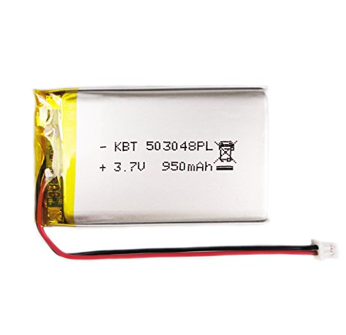 BrightTea Battery Packs Lithium Ion Polymer Battery 3.7V 950mAh Rechargeable battery Li-ion Li-Po (950 Mah Lithium Battery)