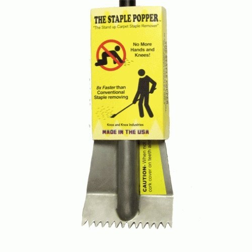 The Staple Popper Stand Up Carpet Staple Remover Tool by The Staple Popper