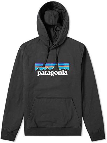 [パタゴニア]Patagonia Men's P-6 Logo Uprisal Hoody メンズ P-6ロゴ アップライザル フーディ 39539 Black 黒 [並行輸入品]