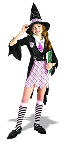 [Masquerade Concepts Child's Charm School Witch Costume, Medium] (Harry Potter Halloween Costumes Hermione)