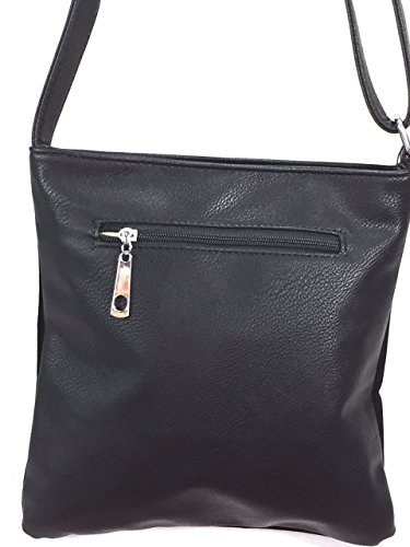Bag Black Sparkle Gem Cross Zzfab Body Cross wAgSX44qF