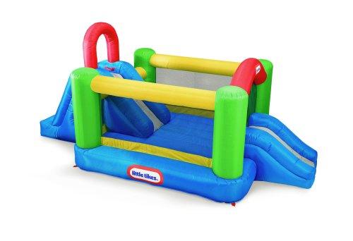 Little Tikes Jump N Double Slide - Tikes Jump Little N Slide Bouncer