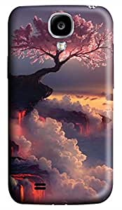 Samsung Galaxy S4 I9500 Hard Case - Japan Mount Fuji Cherry Galaxy S4 Cases